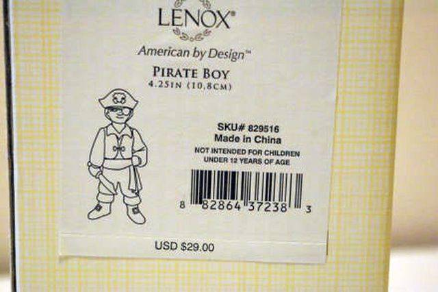 Lenox 2012 Pirate Boy Figurine New In Box