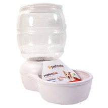 Petmate Pearl White Replendish Feeder With Microban 10 Pound 029695244773 - $39.75