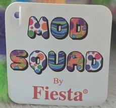 Fiesta Mod Squad A51766 12 inch Multi Colored Polkadots Floppy Dogs image 7