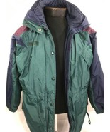 VTG Columbia Jacket 3 In 1 Ski Colorblock 90's Ski Coat Tech Winter Wome... - $39.99