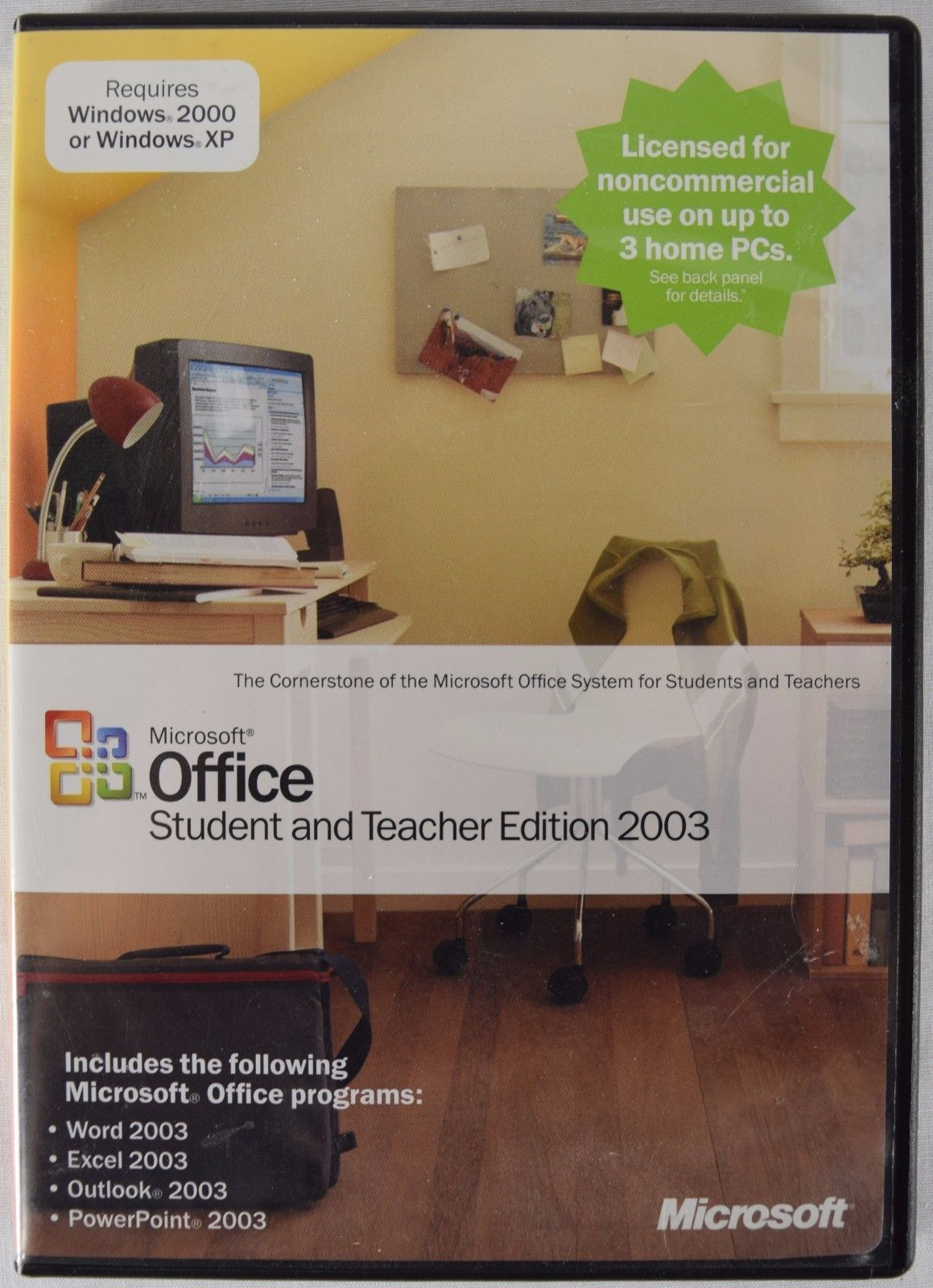 Primary image for Microsoft Office 2003 Student and Teacher Edition (Retail) (3 User/s)