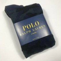 Polo Ralph Lauren Men's 2 Pack Camo Trouser sock.Navy.Msrp.$18.00.Nwt - $16.73