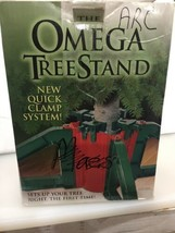 Omega Christmas Tree Stand- No Screws |Unbreakable Nylon Clamps |Holds u... - $36.45