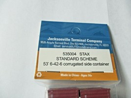 Jacksonville Terminal Company # 535004 STAX 53' Standard Scheme Container (N) image 2