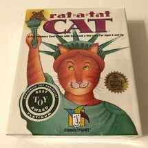 GameWright Rat a Tat Cat Fun Numbers Card Game New - $12.86