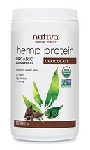 Nutiva Organic Hemp Protein, Chocolate, 16 Ounce - $16.78