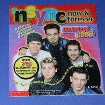 NSYNC SOFTBOUND BOOK VINTAGE 2000 NOW & FOREVER - $19.99