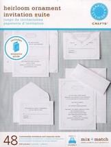 Martha Stewart - Heirloom Ornament Invitation Suite (M972202) - $29.95