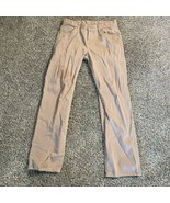 7 for all Mankind Austyn Brown Khaki Pants Men's Size 32 X 34 - $14.84