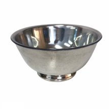 Paul Revere Reproduction Oneida Silver-plated Bowl 8 Inch Vintage With L... - $13.38