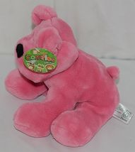 Fiesta Brand Comfies Collection A52862 Hot Colors Pink Plush Puppy Dog image 4
