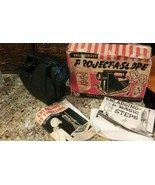 Vintage Brumberger Project-A-Scope Photo Art Projector #290 + Box & Inst... - $18.80