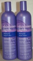 Clairol Shimmer Lights Shampoo for Blonde & Gray Hair 16 oz - 2 pack - $29.65