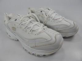 Skechers D'Lites Size: US 8.5 M (B) EU 38.5 Women's Athletic Shoes White