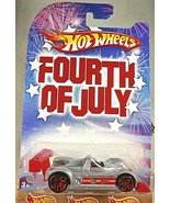 2008 Hot Wheels Walmart Fourth of July RILEY & SCOTT MK III Silver w/Red 10 Sp - $10.05