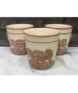 Set 3 Made In Italy Italian Pottery Mary Ryan Putti Cherub Relief Plante... - $108.90