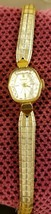 Vintage 1950s Benrus Gold Filled Woman's Wristwatch Runs Good No Origina... - $29.69