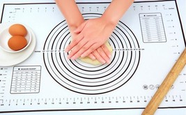 New Silicone Fiberglass Baking Sheet Rolling Dough Pastry Cakes Bakeware... - ₨73,959.08 INR