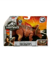 Jurassic World Fallen Kingdom Roarivores Triceratops Action Figure      ... - $19.97