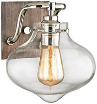 Elk Lighting 31940/1 Vanity-Lighting-fixtures, 9 x 8 x 9, Gray - $202.00