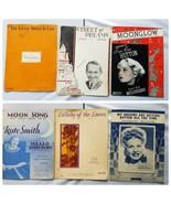 Irving Berlin Vintage Sheet Music 1930s Lot of 6 Songs - $27.89