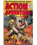 Action Adventure #4 1955-Gillmor-plane crash-Foreign Legion-final issue-VG - $57.11