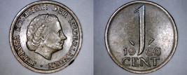 1966 Netherlands 1 Cent World Coin - $3.49