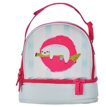 FurReal Sloth Insulated Lunch Bag Double Decker Cooler 2 Compartment For... - $7.89