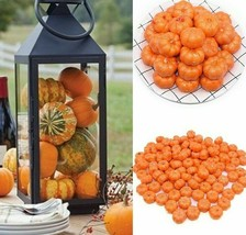 25/50pcs Mini Fake Vegetable Simulation Halloween Artificial Pumpkins Di... - $3.99+