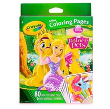 Crayola Disney Princess Palace Pets Mini Coloring Pages with 6 Washable Markers - $6.79