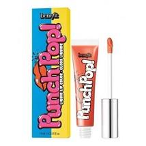 Benefit Punsch Pop Liquid Lipgloss Gloss Mango Glanz Lippen Rohr Neu in Box - $11.86