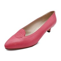 Chanel Coco mark Pumps leather pink Studio 35 12C 22.5cm Auth - $746.46