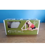 Gripitz Yoga Towel gripiTowel Microfiber Towel With Loops 2004 NOS - $41.58