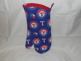 Texas Rangers BBQ Mitt with Quilted Thermo Lining and Assorted Trim Colors - $15.50