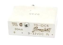 GRAYHILL 70-IDC5 I/O MODULE 70IDC5, 50mA, 3-32VDC