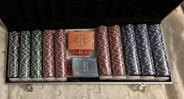 Professional 500 Chips Poker Set with Case - $68.95