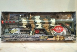 Machine Gun Urban Tactical Gear light sound vibration 21 inch New in box - $23.99