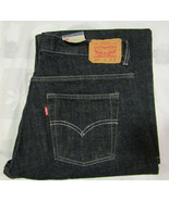Levis Strauss 550 Sz 14 Husky 33 X 28 Womens Blue Jeans Relaxed Slim Fit... - $34.99