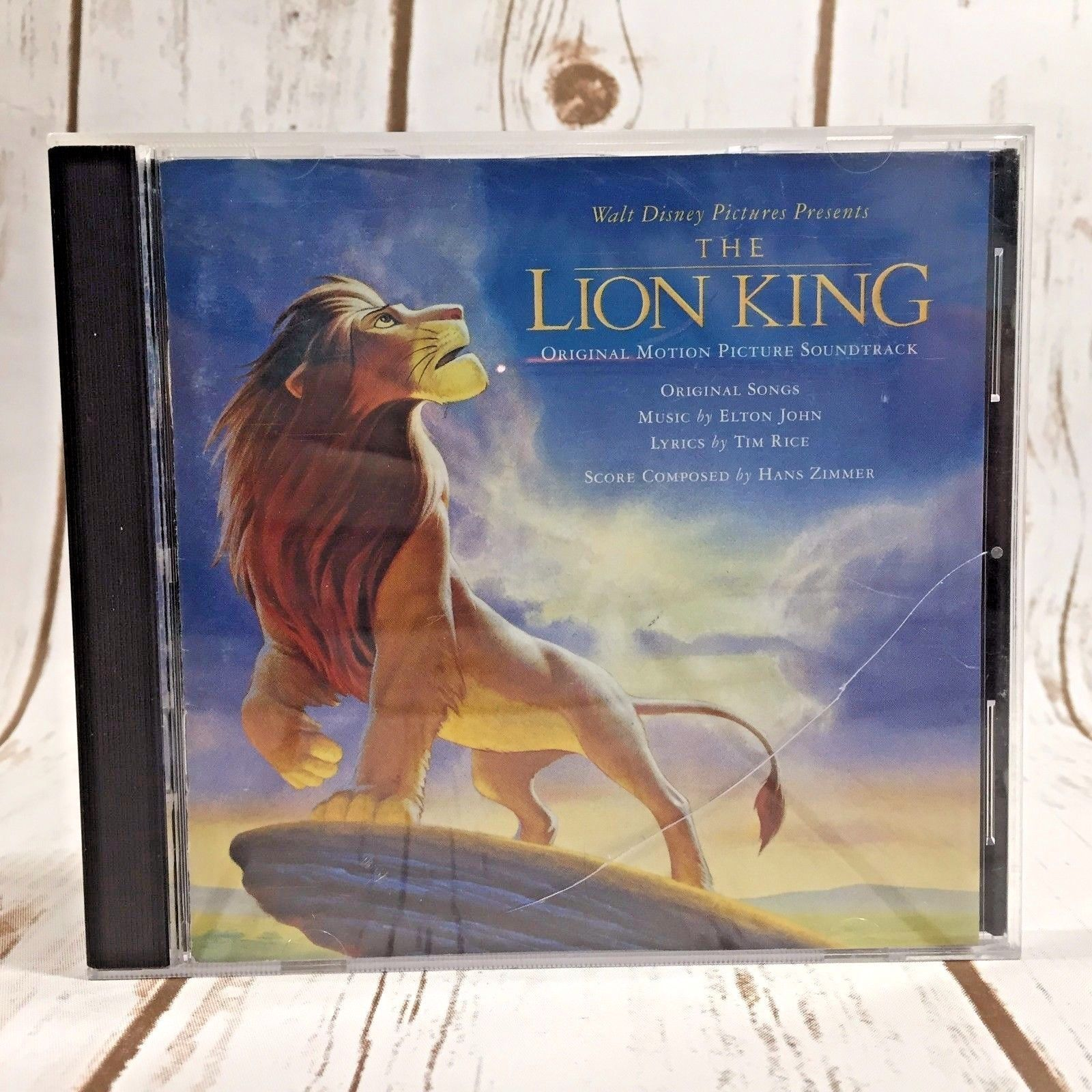 The Lion King CD Original Motion Picture Soundtrack by Hans Zimmer CD