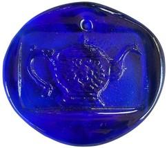 Colette Glass Designs Teacup Window Suncatcher Lead Crystal Ornament Cob... - $24.99