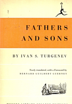 Father And Sons by Ivan S. Turgenev (1959 Random House,Inc.) - $3.50