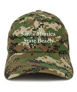 Trendy Apparel Shop Santa Monica State Beach Embroidered Brushed Cotton ... - $18.99