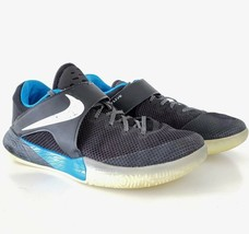 Nike Zoom Live PE ZACH LAVINE Men's Size 9.5 Black Blue Orlando Shoes 91... - $54.95
