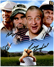CADDYSHACK- MURRAY, CHASE,KNIGHT,DANGERFIELD Signed Autographed Cast Photo w/COA - $245.00