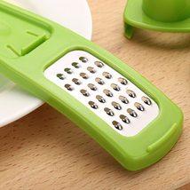 1 Pc Candy Color Garlic Press Multi-functional Mini - $13.49