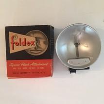 VIntage Foldex Syncro Flash Attachment In Original Box Photography - $1.99