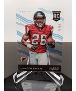 2015 Panini Clear Vision Blue 116b Tevin Coleman Rookie 24/99 Running St... - $4.93