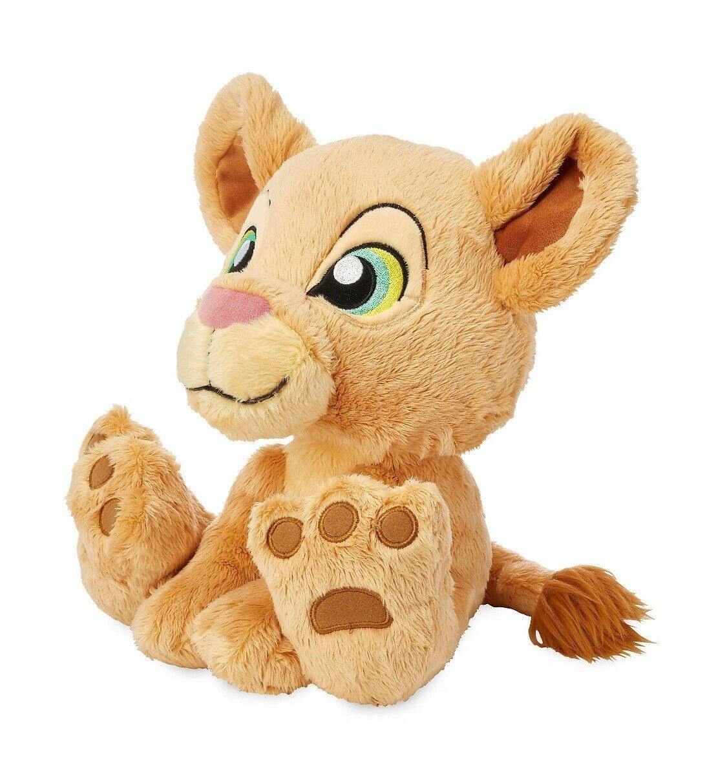 "Disney Parks The Lion King Nala Big Feet 10"" Plush New with Tag"