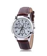 Woman's Watch Fashion Luxury Ladies Quartz Wristwatch Leather Strap Watch C - $16.89