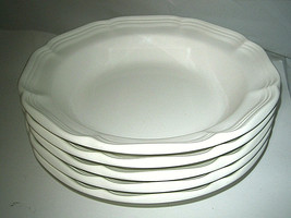 "Mikasa French Countryside Rim Soup Bowls F900  8 1/2"" D - $35.99"